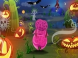 Flash игра для девочек Pinky Pop Halloween Party