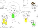 Flash игра для девочек Colouring 2