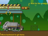 Flash игра для девочек Garbage Truck