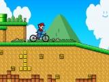 flash игра Mario BMX 2