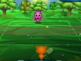 Flash игра для девочек Toto and Sisi play Tennis