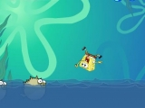Flash игра для девочек SpongeBob Incredible Jumping