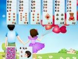 Flash игра для девочек Golf Solitaire First Love
