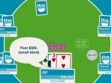 Flash игра для девочек Texas Hold 'em Poker
