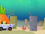 Flash игра для девочек Sponge Bob Boat Ride