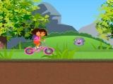 Flash игра для девочек Dora Uphill Ride