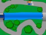 Flash игра для девочек Кольцевые гонки на двоих