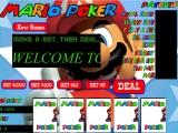 Flash игра для девочек Mario Poker