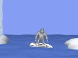 Flash игра для девочек Yetisports 3 - Метание пингвина вверх