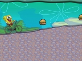 flash игра Spongebob Bike Ride