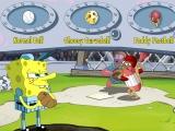 Flash игра для девочек Spongebob Slammin' Sluggers
