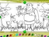 flash игра Shrek 2: Create&Color - Раскраска
