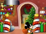 Flash игра для девочек Mickey and friends holiday helpers