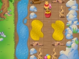 flash игра Winnie The Pooh Balloon Trail