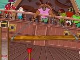Flash игра для девочек Peter Pan: Dart Camp - Дартс на пиратском корабле