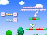 Flash игра для девочек Cute Rabbit in Mario World 2