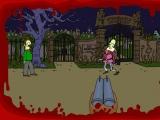 Flash игра для девочек Springfield Cemetery