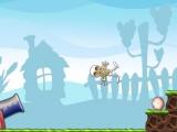 Flash игра для девочек Skeleton Launcher