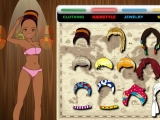 Flash игра для девочек African Colours