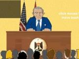 Flash игра для девочек George Bush Shoe Defense