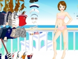 Одень девушку-моряка 2