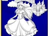 Красивая принцесса