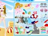 Flash игра для девочек Beach Bratz