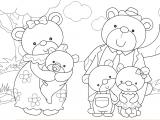 Flash игра для девочек Семья медведей