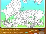 Flash игра для девочек Раскраски: Babicveti