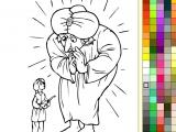 flash игра Paint Online Fairy Tale - Alladin