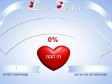 flash игра Любовный тестер