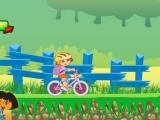 Flash игра для девочек Doras Bike Ride