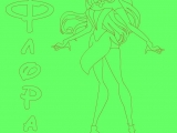 flash игра Winx Flora