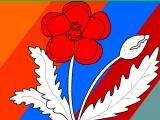Flash игра для девочек Раскраски: Красный мак