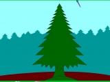 Раскраски: Красивая ель