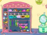 Flash игра для девочек Смешарики: Наряд для Нюшы