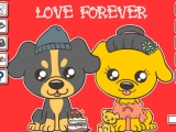 Cute Puppy Love Forever