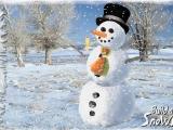 Flash игра для девочек Build Snowman