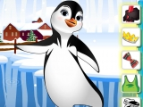 flash игра Summer Penguin Dress Up