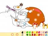 Раскраски: Santa Claus