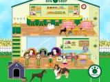 flash игра Dog Shop