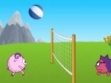 Flash игра для девочек Смешарики: Волейбол