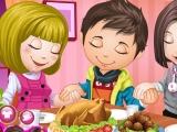 Cute Children Thanksgiving Day