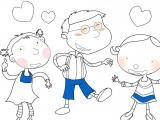 Раскраска: Child 2