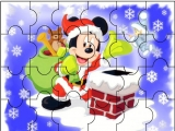 flash игра Santa Mickey Mouse