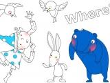 Раскраски: Where is the Animal's