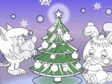 Раскраски: Happy New Year