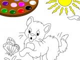 Cat Online Paint
