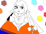 flash игра Раскраска: Princess