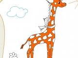 Раскраски: The Giraffe
